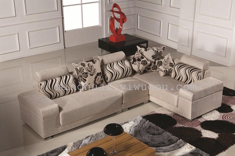 Supply Upscale boutique stylish leisure fabric sofa living room