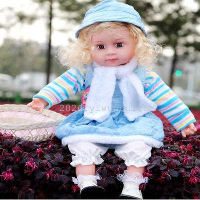 Early childhood educational music intelligent toy doll doll doll Bobbi music simulation