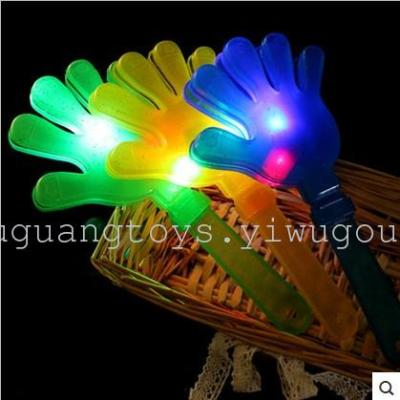 Flash props props slap clap clap your hands 28CM an atmosphere large luminous clap