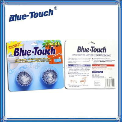 Blue bubble toilet cleaner cleaning supplies