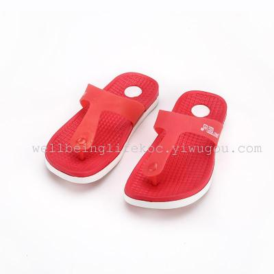A funny garden spot breathable flat with Ms. slippers / sandals and slippers PU matte laces