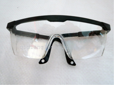Factory Outlet retractable black-rimmed white protective safety glasses safety glasses eye protection wind and impact