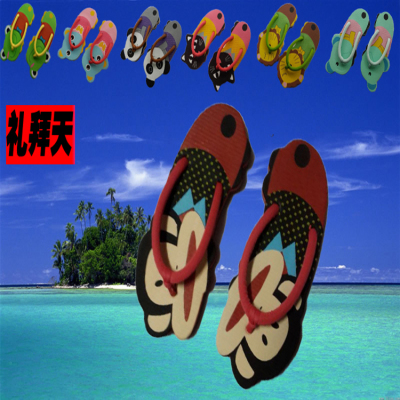 New cartoon flops animal feet Sandals fashion slippers home slippers
