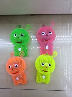 Re not re transparent Flash toy manufacturers selling soft toys YOYO massaging animals