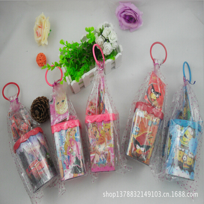 Cartoon Pen Holder Set Student Only Children Gift Office Supplies Item No. 3002