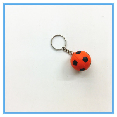 PU Pressure Relief Ball Key Chain