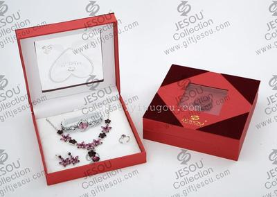 Jewelry Ring Necklace Bracelet watches Guangdong JESOU Gift Set