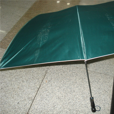 Two Fold Extra Large Golf Umbrella Umbrella Super Strong Wind Shielding Umbrella Trendy Fashion Silver Plastic Umbrella
