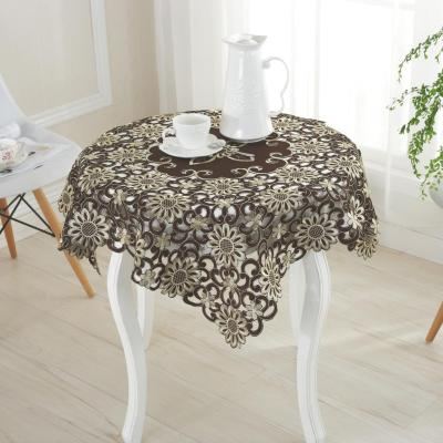 [after] wave crafts high-end Satin Embroidered Tablecloth tablecloths tablecloths made