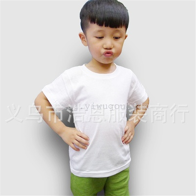 Children's T-shirt advertising shirt T-shirt wholesale cheap blank