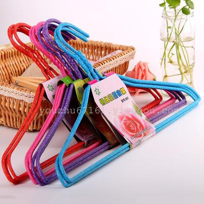 007-3 hanging clothes hanger has bamboo factory direct wholesale A041