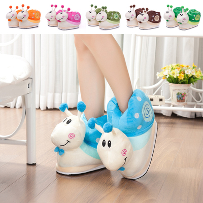 The new warm cotton slippers, cotton slippers, cotton, cotton, wholesale manufacturers of a snail