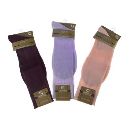 Foreign male silk stockings socks breathable deodorant solid silk stockings wholesale card nylon stockings
