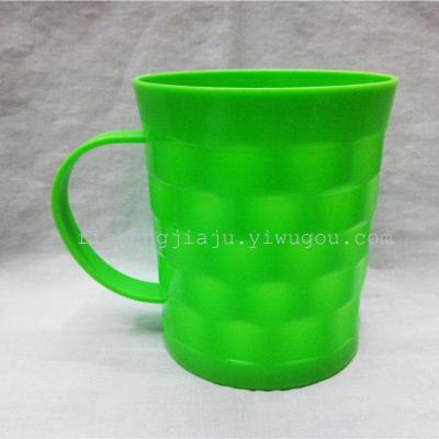 Plastic special drink water cup with a handle cup RS-200039
