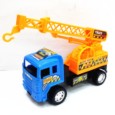 New type of children's engineering toys, plastic inertia project of the crane puzzle toys