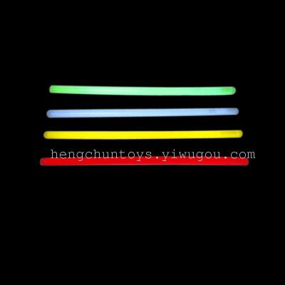 Glow of the 10x300mm fluorescent bar