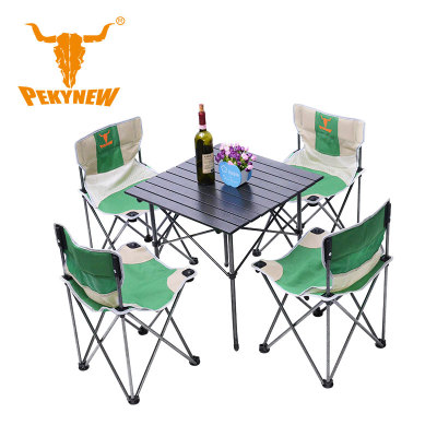 Folding chairs and table,  one table, leisureuit,  outdoor table and chairs