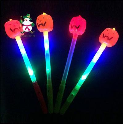 The new hot flash toy flash stick Ghost Halloween Pumpkin pumpkin flashing flashing stick