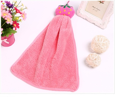 Coral cashmere towel towel creative towel anime cartoon towel towel towel towel beautiful and practical