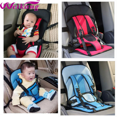 Simple and portable child safety chair, car baby seat