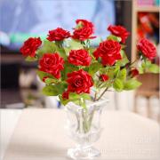 Rose Moisturizing flower decoration feel special offer Home Furnishing glue Korean rosebud