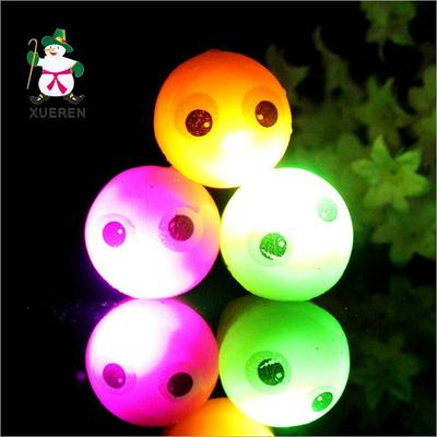 Factory direct selling cute eyes flash pendant concert LED toys Yiwu stall goods wholesale