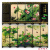 Home decoration Chinese style antique lacquerware small screens foreign gifts