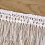 White slender long hanging suiting lace stage DIY accessories.