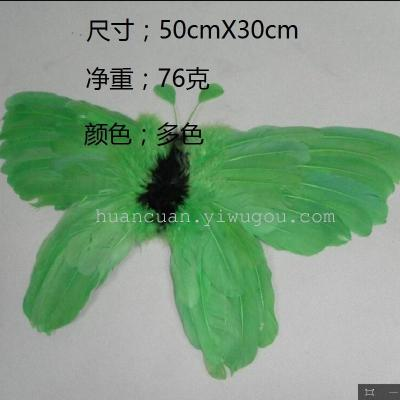 Manufacturers direct feather angel wings children perform angel wings dance