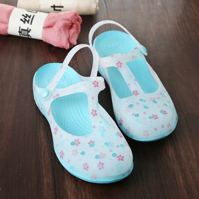 Louis brand new summer fashion boutique hole explosion jelly sandals slippers wholesale