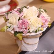 High grade rose bonsai bonsai series Home Furnishing decoration ultra realistic shooting props