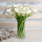 Factory direct selling Taobao touch large Calla flower simulation open 16 branches.