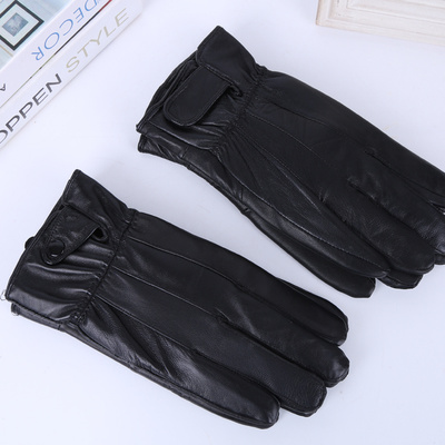 Ladies' quilted gloves, a pair of warm gloves, winter and winter cycling, soft and comfortable gloves.