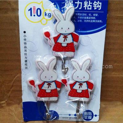 Cartoon rabbit strong sticky hook daily use department stores wholesale direct RS-5666