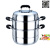 Stainless steel cookware stainless steel cookware stainless steel steamer for diamond and two-tier multi steamer