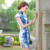 The new spring and summer women's fashion slim silk cheongsam dress dress