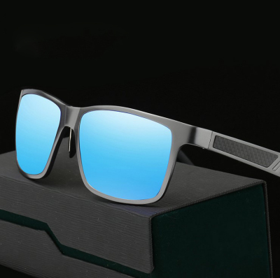 Men's Sports Sunglasses aluminum magnesium colorful polarizing fishing driver driving mirror mirror factory wholesale