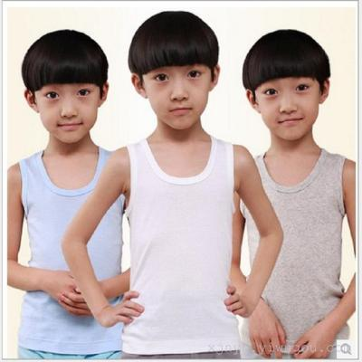 Foreign trade children's cotton underwear underwear children's summer thin section without trace backing small