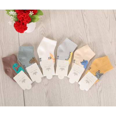 Spring and autumn cotton child socks baby socks baby baby cotton breathable socks.