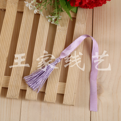 Factory direct sales ribbon, rope, tassel and accessories decoration accessories