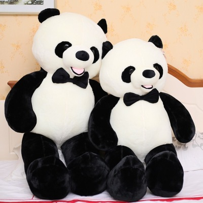 Giant panda doll, doll, plush toy panda Po panda national treasure toy