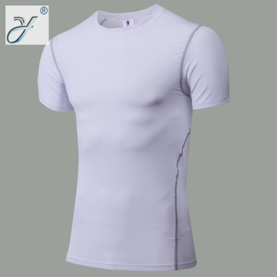 Factory Wholesale Custom Bodybuilding Sports Cycling Quick-Drying T-shirt