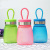Leak proof portable plastic cups for children students lovely kids summer fall proof kettle drinking cup