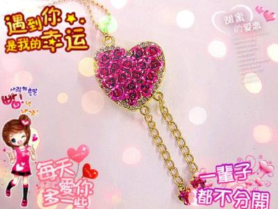 The supply of high-end jewelry brand jewelry heart-shaped Valentine couple preferred the Qixi Festival USB