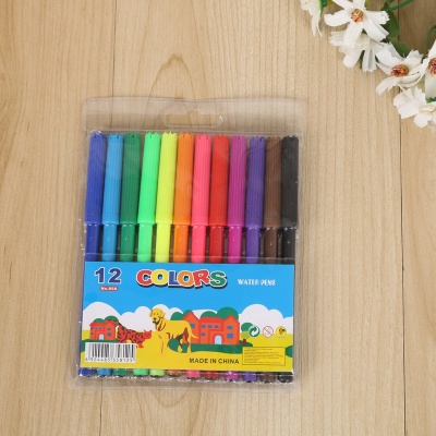 Painting baby non - toxic watercolor brush suit 12 - color graffiti painting pen suit
