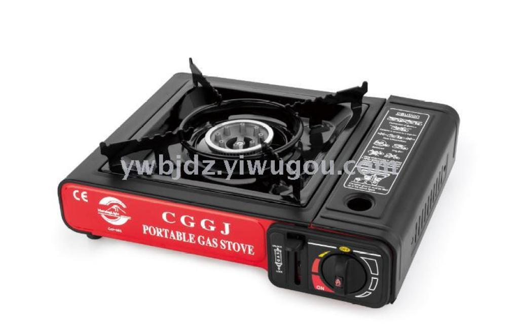 Hot Pot Stove Gas Grill Outdoor Picnic Portable Card Furnace
