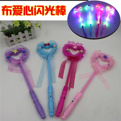 Light emitting head buckle sell adorable horn flash toys dance concert cheer props