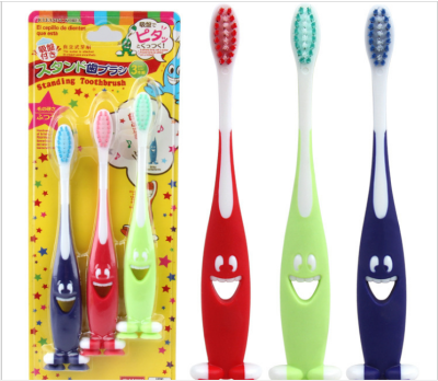 Primer child toothbrush cartoon toothbrush 3.