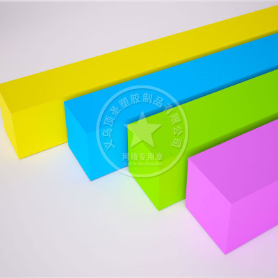 Color PE high foaming high elastic polyethylene two times foaming sheet material