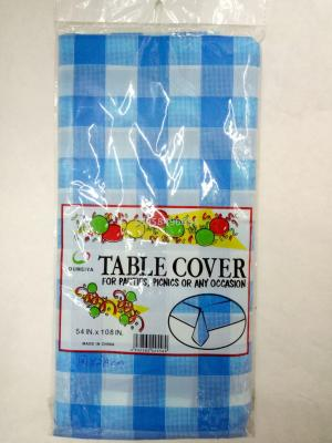Home PE Plaid tablecloth